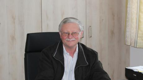 Rammingens Bürgermeister Anton Schwele