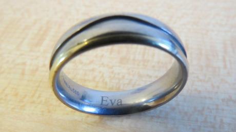 Wem gehört dieser Ehering? Er wurde am Kurpark Bad Wörishofen gefunden.
