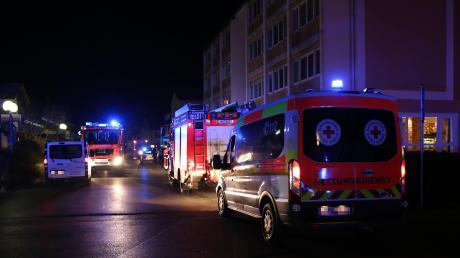 Feuerwehreinsatz an Bad Wörishofens Hauptstraße.