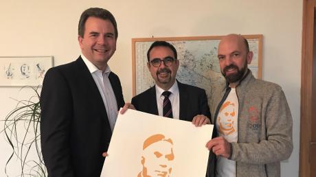 Vorfreude aufs Kneipp-Jubiläum (von links): Stefan Welzel, Schatzmeister des Kneipp-Bundes, Kneipp-Bund-Präsident Klaus Holetschek und Bundesgeschäftsführer Thomas Hilzensauer.