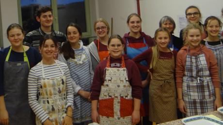 Maristenschüler haben auch in diesem Jahr kurz vor Weihnachten wieder für Bedürftige gekocht.