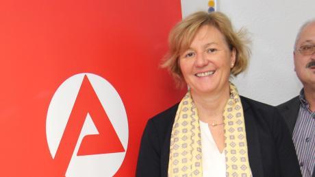 Arbeitsamtschefin Maria Amtmann freut sich über das gute Jahr 2019 auf dem Allgäuer Arbeitsmarkt.