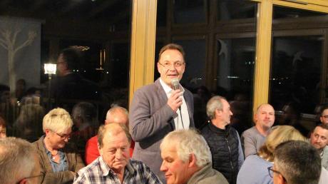 Kandidat im zweiten Anlauf: Johannes Ruf, 55, ist von der Wählergemeinschaft Tussenhausen für die Wahl zum Bürgermeister nominiert worden.