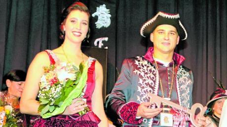 Prinzessin Franziska und Prinz Peter regieren bei der Zaisonarria.