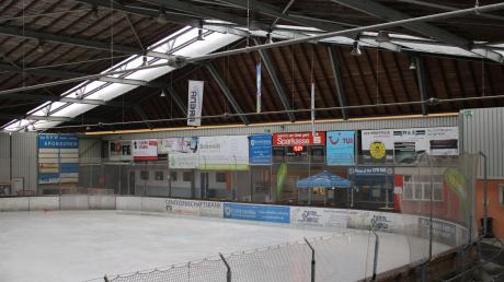 Die Eishalle von Bad Wörishofen.