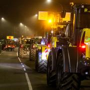Beim Besuch von Michaela Kaniber in Memmingen im Dezember hatte es ebenfalls Bauernproteste gegeben.