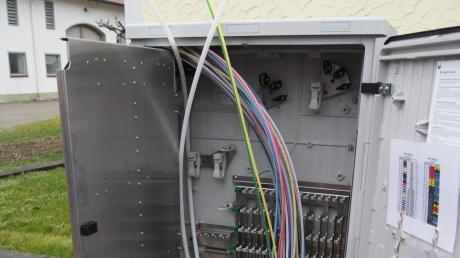 Schnelles Internet für alle: Im Ortskern von Rammingen können alle Haushalte einen Glasfaseranschluss bekommen. Damit auch die Ramminger in den Außenbereichen schnell surfen können, greift die Gemeinde tief in die Kasse.