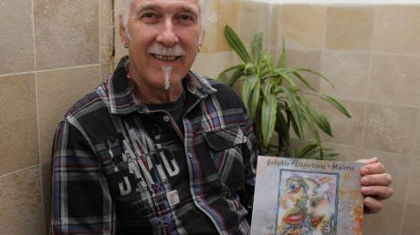 Franz Blochum aus Dirlewang hat ein Buch mit lyrischen Texten und Bildern herausgebracht.