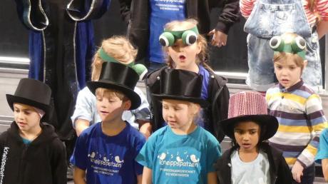 Ein Heimspiel hatten die Kneippspatzen aus Bad Wörishofen beim Unterallgäuer Kindersingen.