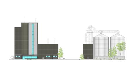 So sehen die geplanten Gebäude der Firma Weikmann aus.