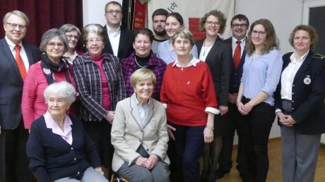 Lob und Dank gab es bei der BRK-Jahresversammlung für die vielfältigen Aktivitäten des Mindelheimer Frauenarbeitskreises.