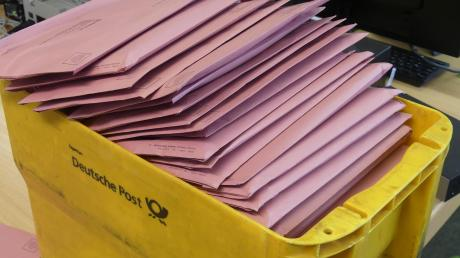 Die Zahl der Briefwähler in Augsburg war noch nie so hoch.