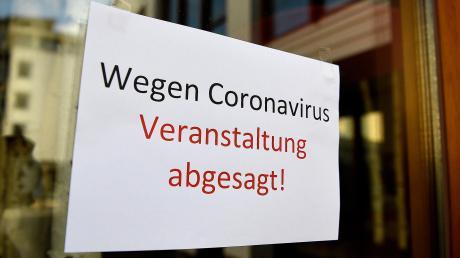 Um die Ansteckungsgefahr mit dem neuartigen Coronavirus zu mindern, hat die Stadt Bad Wörishofen mehrere Veranstaltungsräume geschlossen, mit der Folge, dass nun zahlreiche Veranstaltungen entfallen müssen.