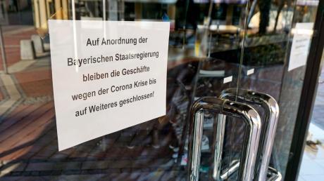 Noch mehr Geschäfte als bisher schon müssen in Bad Wörishofen nun geschlossen bleiben.
