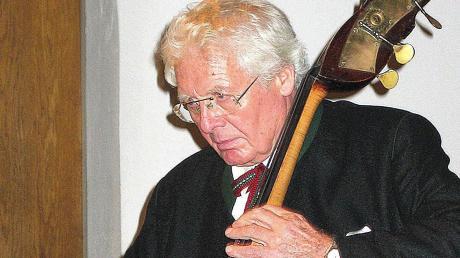 Der bekannte Musiker Georg Hörtnagel stammt aus Kammlach. Jetzt starb er im Alter von 93 Jahren.