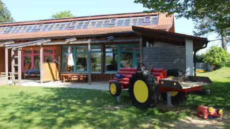 Der Kindergarten in Eppishausen soll im kommenden Jahr erweitert werden. Im Haushalt werden dafür 320.000 Euro veranschlagt.
