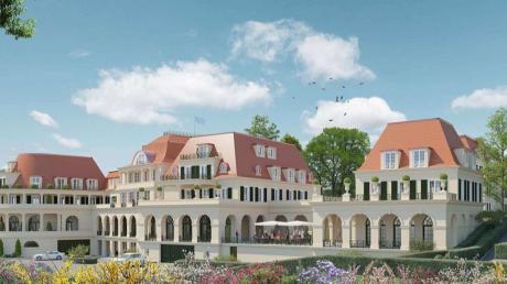 Die geplanten Löwenbräu-Arkaden in Bad Wörishofen waren erneut Thema im Stadtrat.