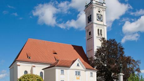 Die Kirche Mariä Himmelfahrt in Türkheim. Von der unliebsamen Zuschuss-Überraschung ist das Gotteshaus zwar nicht betroffen. Aber auch dort geht es um Geld, wenngleich an ganz anderer Stelle.