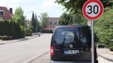 """In Bad Wörishofen """"blitzt"""" innerorts die kommunale Verkehrsüberwachung."""