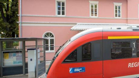 Der Bahnhof von Bad Wörishofen.