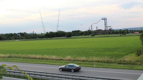 Nahe der A96 bei Bad Wörishofen soll ein Funkmast gebaut werden.