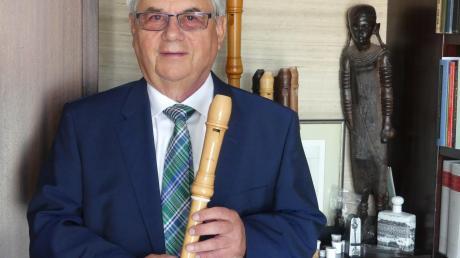 Pfarrer Gundolf Schattenmann genießt seinen Ruhestand. Seine Passion war immer auch die Musik.