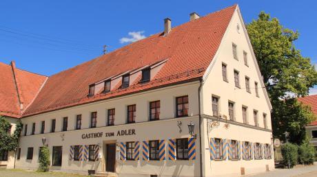 Der Gasthof zum Adler in Kirchheim soll zum Bürger- und Kulturzentrum umgebaut werden.