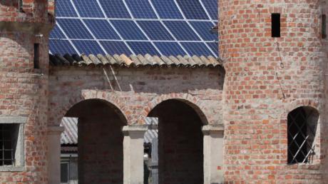 Ein im Bebauungsplan eingetragenes Sichtdreieck hat verhindert, dass die Spielburg vor dem Feuerwehrhaus wieder aufgebaut werden kann.