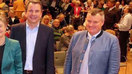 Paul Gruschka (rechts) und Stefan Welzel bei der MZ-Podiumsdiskussion.