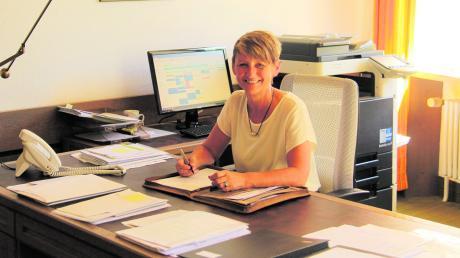 Sichtlich viel Freude hat Susanne Fischer an ihrem neuen Job als Kirchheimer Bürgermeisterin.