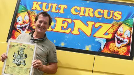 Karl-Heinz Renz ist froh, bald mit seinem Zirkus weiterziehen zu können. Seit März saß er mit seiner Familie in Paffenhausen fest.