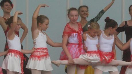 Die Dancepoint Ballettschule Bad Wörishofen tritt beim Unterallgäuer Tanzfilm-Festival auf.