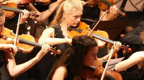 Das vbw-Festivalorchester beim Festival der Nationen 2019 in Bad Wörishofen. Derzeit bereitet sich die Nachwuchsauswahl auf den Festivalstart 2020 vor.