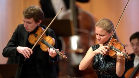 Weltstar Julia Fischer eröffnete das Festival der Nationen in Bad Wörishofen.