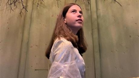 """Johanna Vögele hatte sich schon so auf ihre Einsätze als """"Christkind"""" in der Kneippstadt gefreut. Corona funkte ihr dazwischen."""