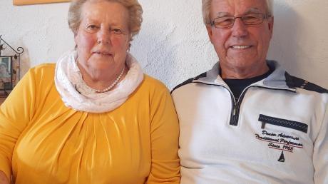 Erika und Ludwig Filser traten vor 60 Jahren in Wiedergeltingen vor den Traualtar. Am Dreikönigstag feierten sie ihre diamantene Hochzeit.
