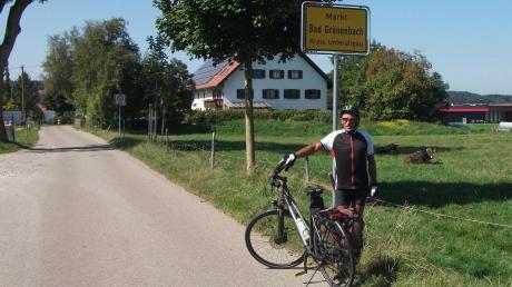 Mit dem Fahrrad hat Martin Schalk das gesamte Unterallgäu erkundet. Alle Weiler und Einöden mit mindestens fünf Häusern hat er 2020 besucht.