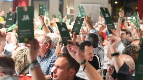 Per Handzeichen abstimmen, so wie hier auf einer Jahreshauptversammlung des FC Augsburg, war im vergangenen Jahr bei vielen Vereinen nicht möglich. Auch 2021 gibt es immer noch Einschränkungen in Bezug auf Versammlungen.