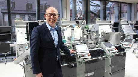 Georg Renner hat heute seinen letzten Tag als Leiter der Mindelheimer Berufsschule.