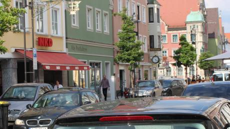 Die Stadt hätte gerne weniger Autos in der Mindelheimer Altstadt. Dabei ist jedoch Fingerspitzengefühl gefragt.