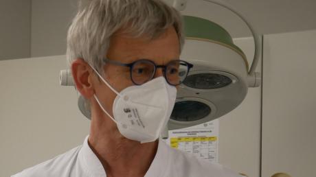 Dr. Peter Meyer ist wieder in Mindelheim tätig, diesmal als Chefarzt.