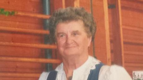 Der Bäuerinnenchor Unterallgäu trauert um Gründungsmitglied Maria Sirch.