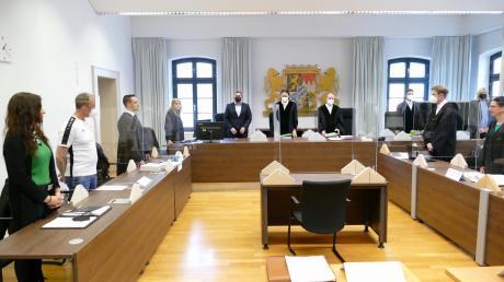 Prozess um Mordversuch und versuchten Totschlag am Landgericht Memmingen. Tatort war Bad Wörishofen.
