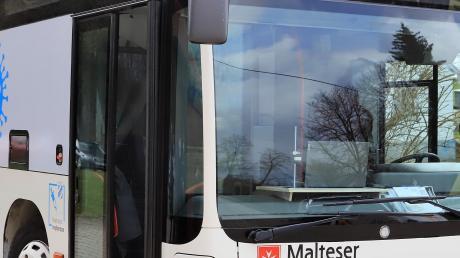 Der Impfbus der Malteser ist jetzt in Betrieb. Vor dem Umbau war der Bus im Ingolstädter Stadtverkehr im Einsatz.
