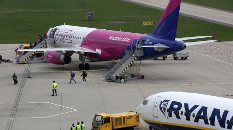 Ein neues Präzisionsanflugsystem soll am Allgäu Airport ab Herbst 2021 für weniger Umleitungen sorgen.