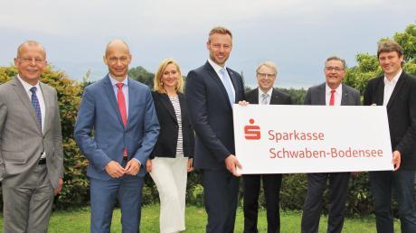Zu einem ersten Austausch trafen sich die Mitglieder des Verwaltungsrates der künftigen Sparkasse Schwaben-Bodensee.