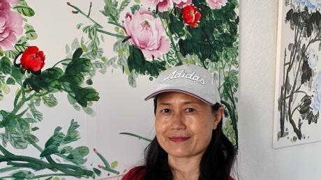 Hong Hua stammt aus einer chinesischen Künstlerfamilie und lebt seit einigen Jahren im Unterallgäu. Derzeit sind ihre Werke im Salon des Kunstvereins zu sehen.