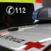 Nach einem Betriebsunfall in Oberschönegg mussten fünf Beschäftigte in Krankenhäuser gebracht werden.