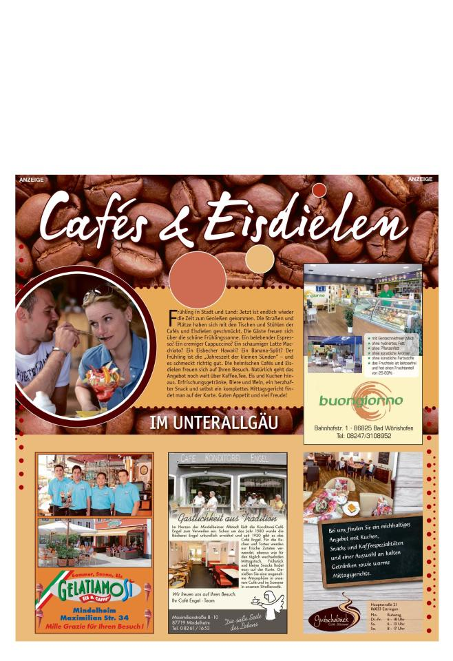 Cafes & Eisdielen