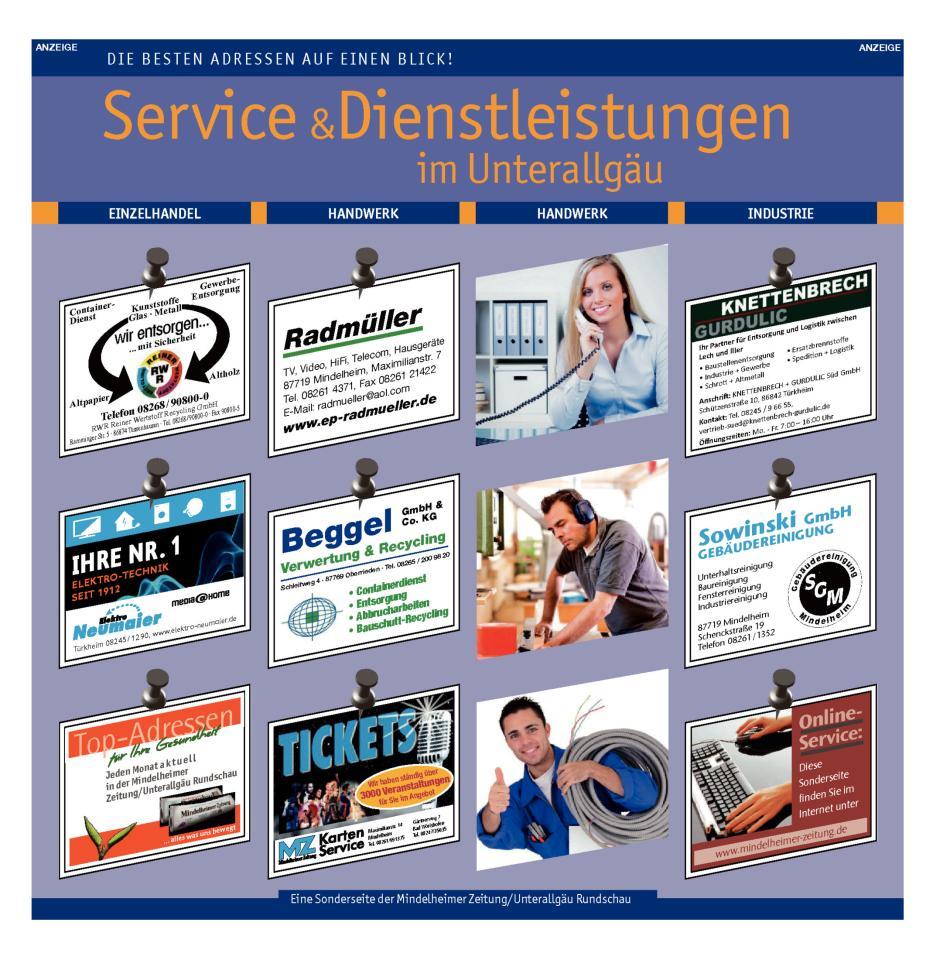 Service & Dienstleistungen